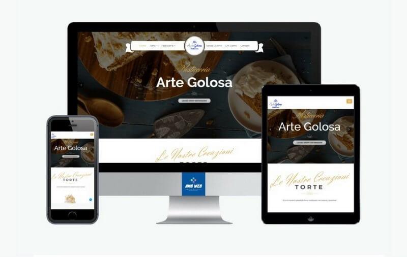 sito web pasticceria