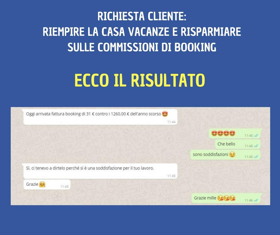 risparmio commissioni booking