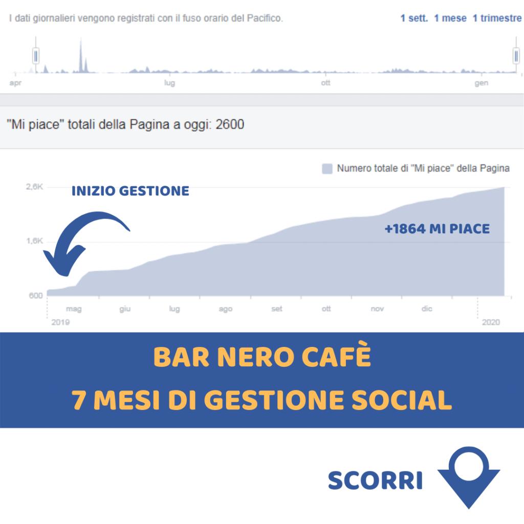 Gestione pagina social