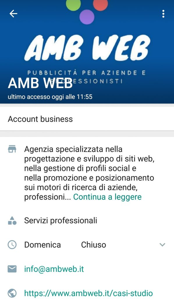 whatsapp- business agropoli